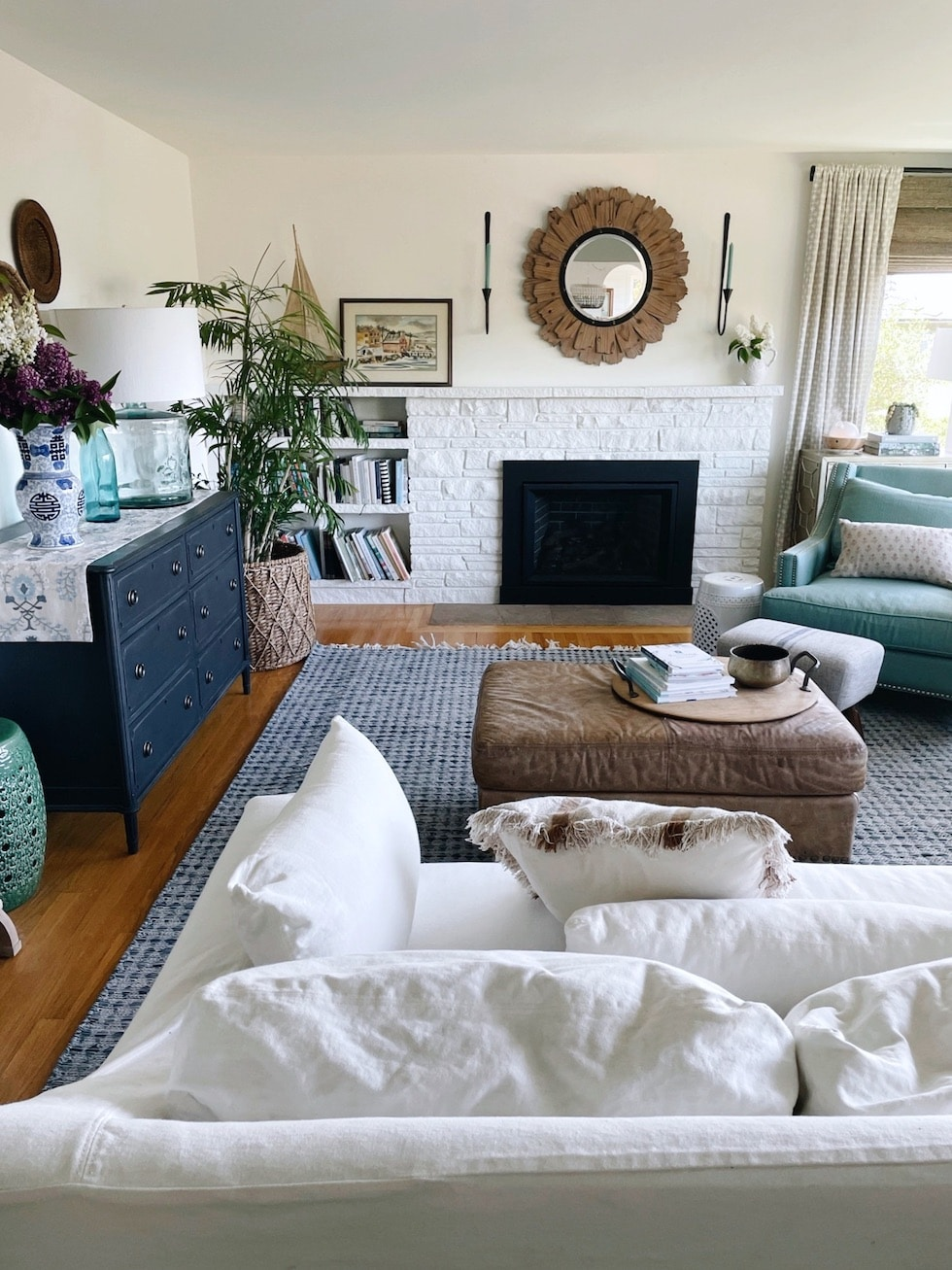 A House That Feels Like Home + New Indoor Outdoor Rug
