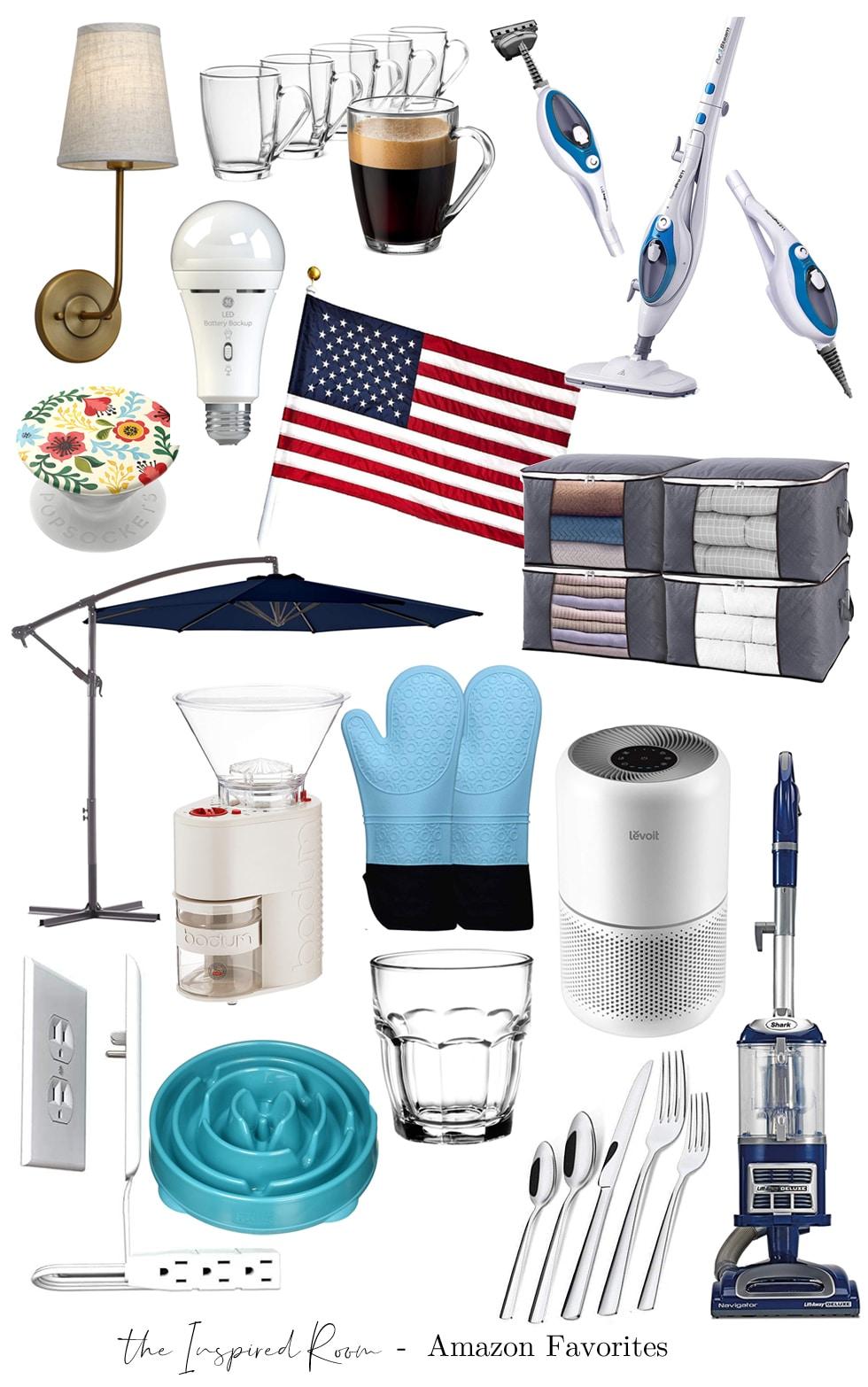 Favorite Amazon Home Decor + Household Gadgets