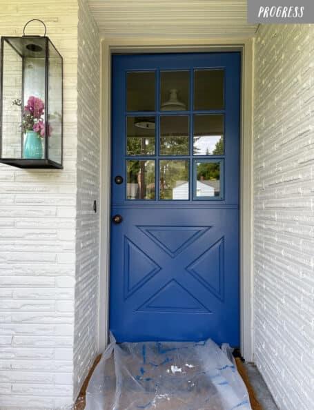 A New Paint Color for Our Dutch Door (+ Summer Doormats)