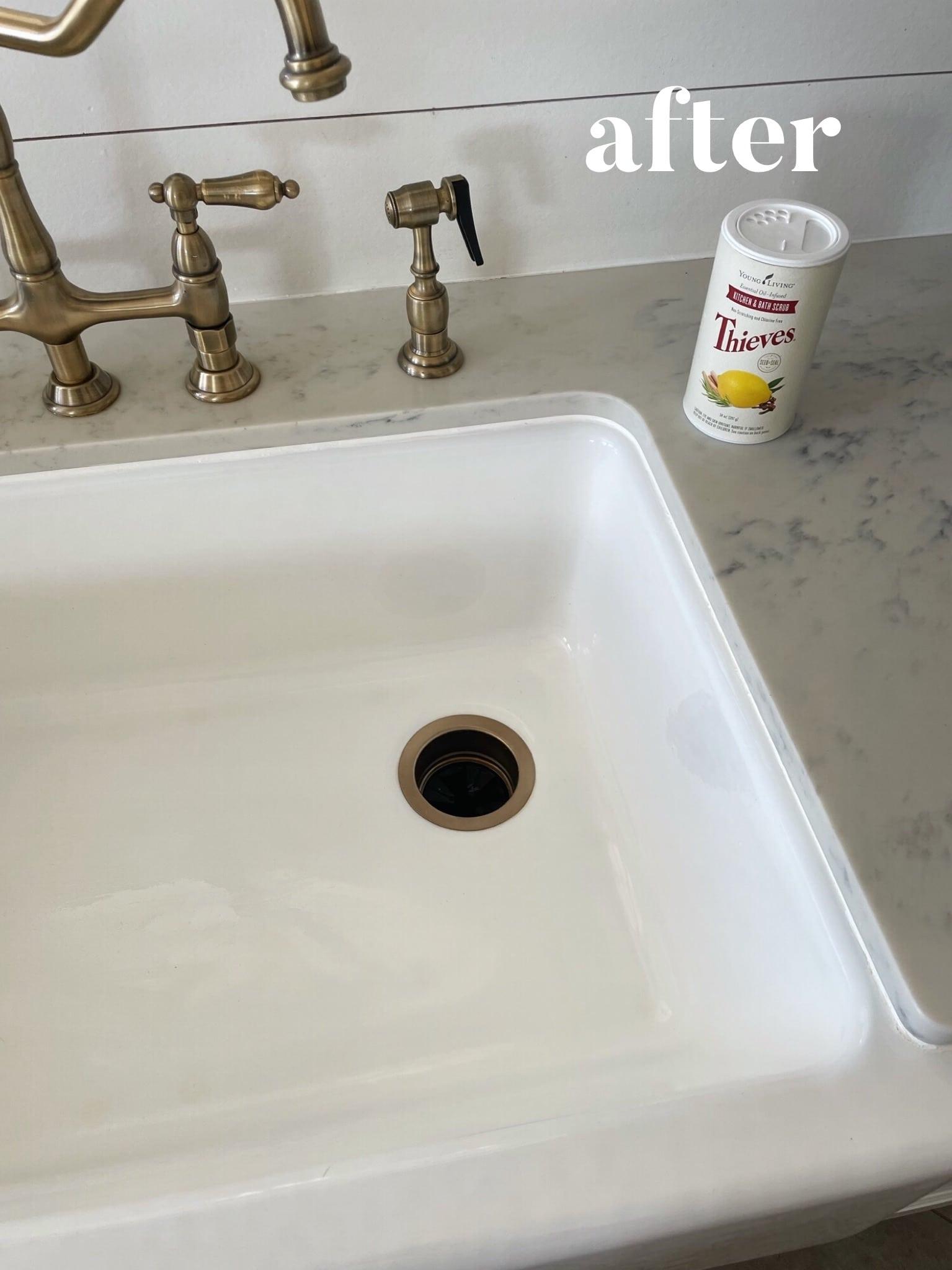 Six Simple Secrets for a Shiny Sink