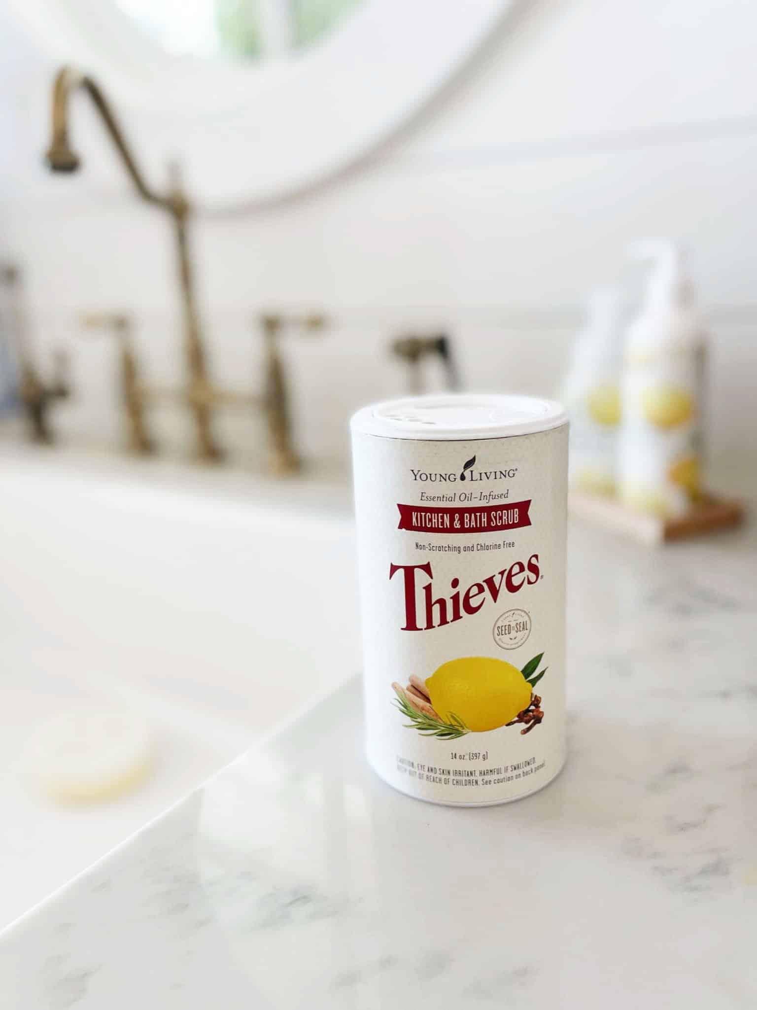 Thieves Kitchen and Bath Scrub: My New Favorite Cleaning Scrub!