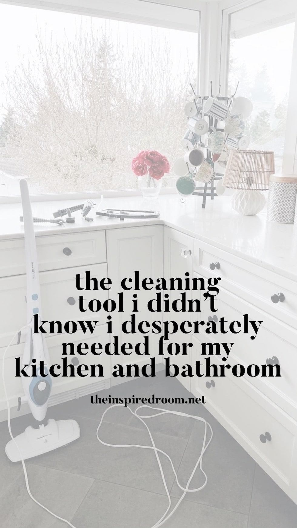 The Cleaning Tool I Didn't Know I Desperately Needed for My Kitchen and Bathroom!