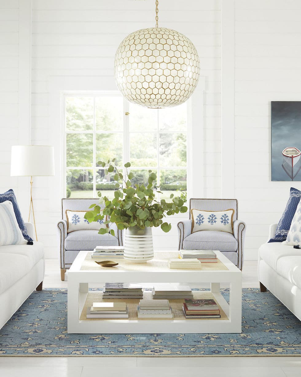Coastal Decorating Inspiration: Serena & Lily