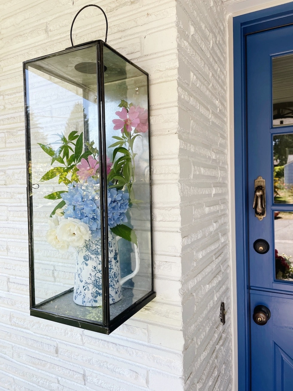 Summer Bouquet in a Lantern