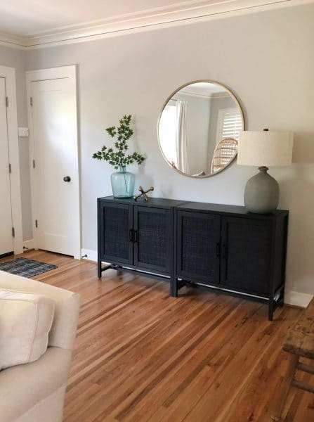 New Entry Console Cabinet (+ the hack that saved me $1500!)