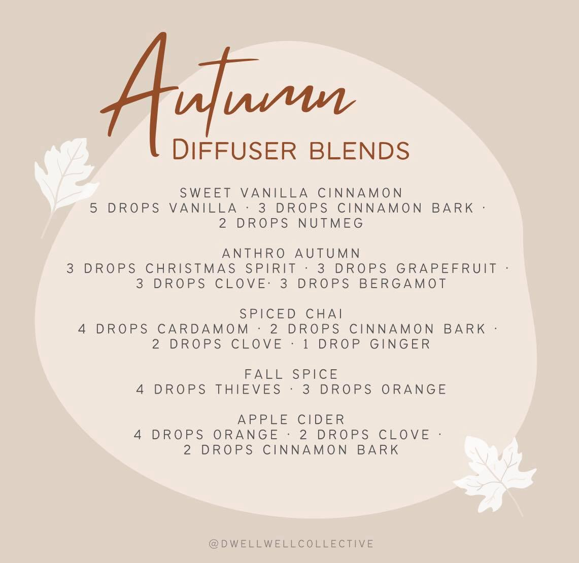 5 Fall Diffuser Blends that are Even Better Than Candles!