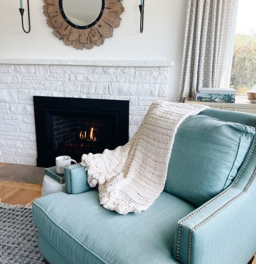 A Cozy Throw Blanket for Fall (+ Giveaway)
