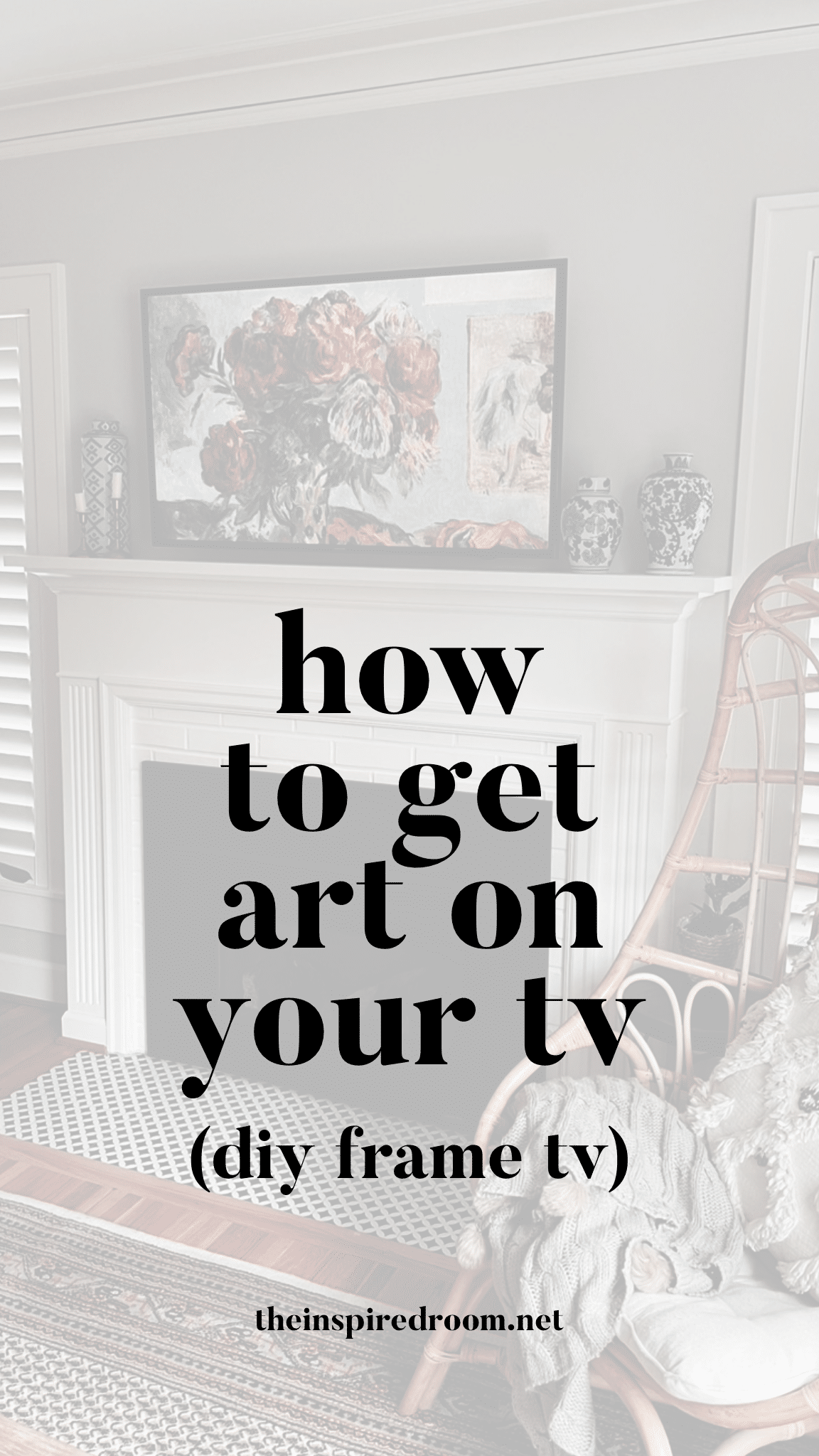 How to Get Art on Your TV with an Amazon Fire Stick Or Fire TV (DIY Frame TV)