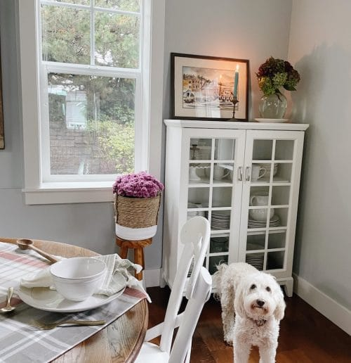 Our New Dining Room + Simple Cozy Fall Tablescape